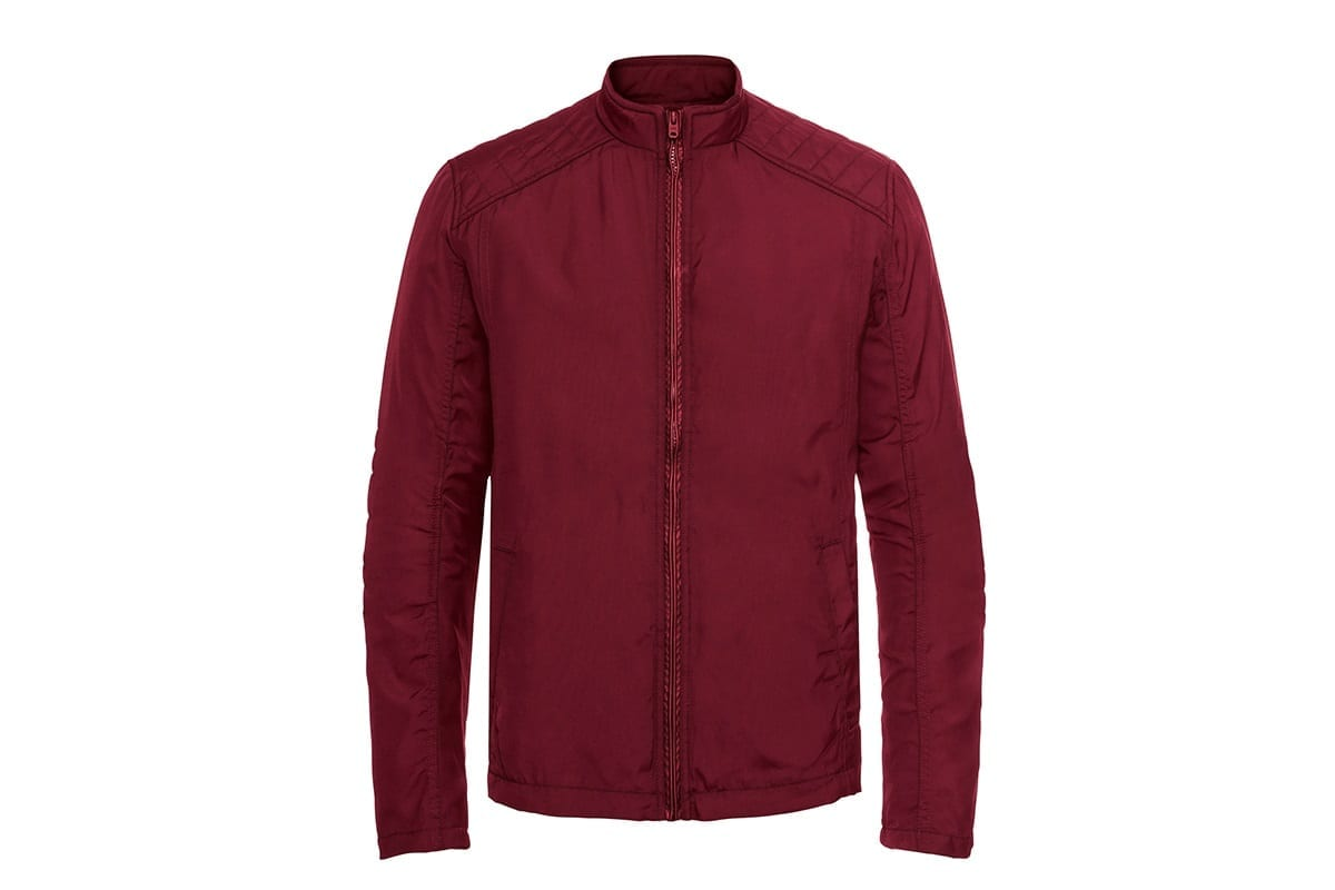 Red jacket on a clean white background   after hollowman removed