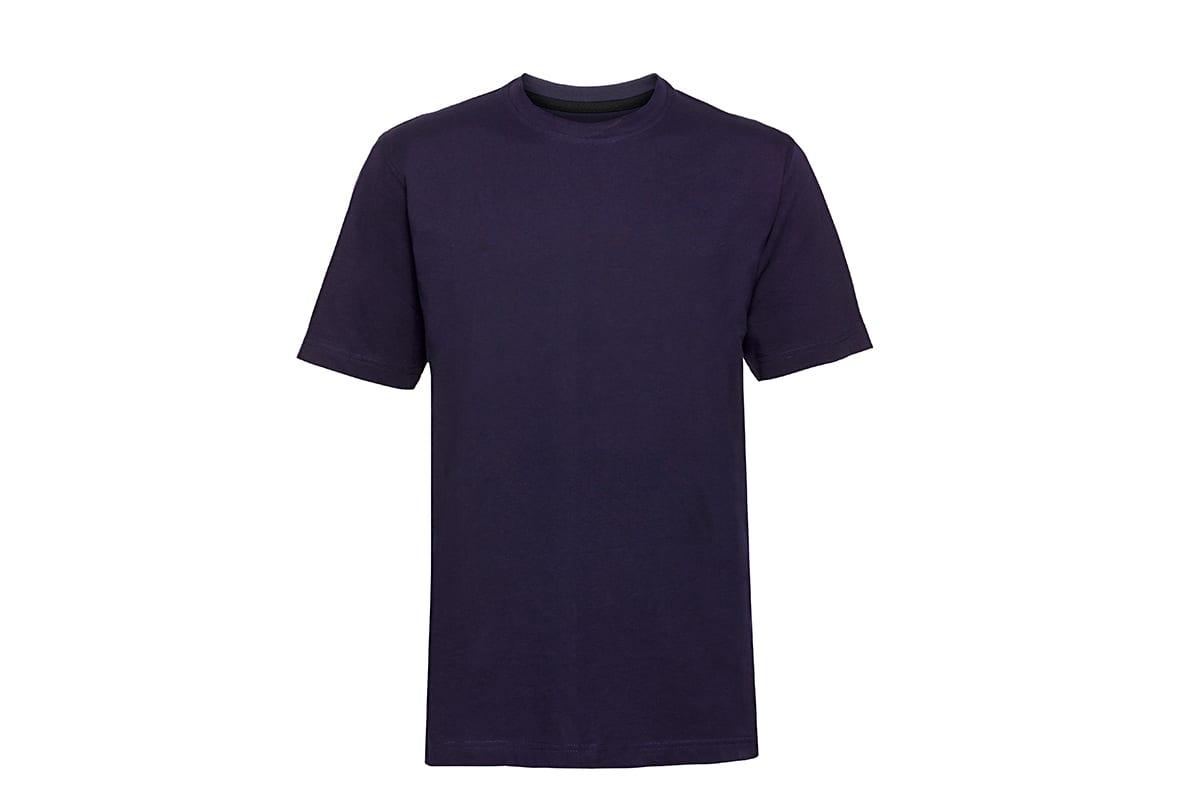 Blaues Tshirt freigestellt auf einem weissen Hintergrund nach der e-commerce online shop bild optimierung